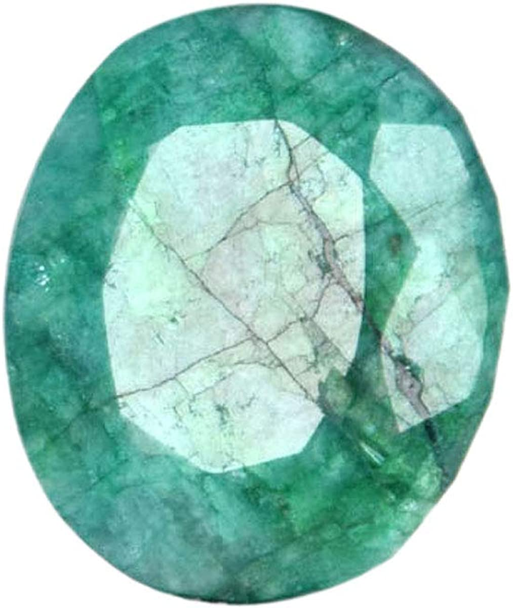 Colgante Tamaño Verde Esmeralda Gem 16.60 Ct Egl Certificado Oval Shape verde Esmeralda, joyería que hace piedras preciosas sueltas