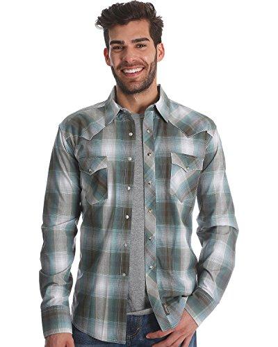 Retro Khaki Shirts (Wrangler Men's Retro Long Sleeve Shirt Beige/Khaki X-Large)