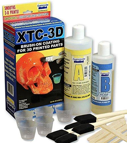 Filabot XTC24VP XTC-3D High Performance 3D Print Coating, Value Pack, 24 oz, Clear by Filabot