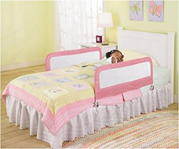 Summer Infant Fold Down Double Bed Rail Pink
