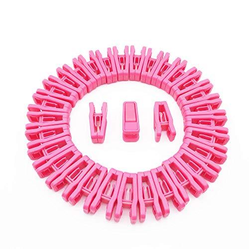Love home special shop Plastic Baby Hanger Clips, 32 Pcs Slim-line Finger Clips Set Clothes Hanger Velvet Hanger(Pink) (Best Shops For Baby Clothes)