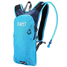 Hydration Pack Backpack - Best Water Rucksack Bladder Bag For Outdoor Running / Cycling Bicycle Bike / Hiking / Climbing / Travel Lightweight Pouch Packs + 2L (70 oz) Water Reservoir