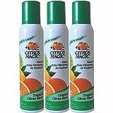 Citrus Magic Natural Odor Eliminating Air Freshener Spray, Pack of 3, 3.0-Ounces Each