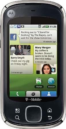 Motorola CLIQ XT, Black (T-Mobile)