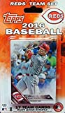 Cincinnati Reds 2016 Topps Baseball Factory Sealed EXCLUSIVE Special Limited Edition 17 Card Complete Team Set with Joey Votto, Jay Bruce & Many More Stars & Rookies! Shipped in Bubble Mailer!