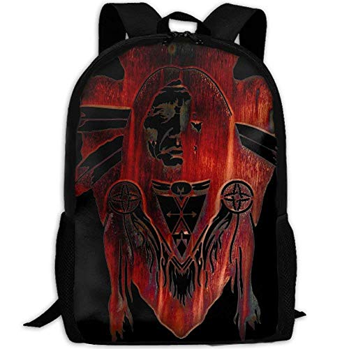 Native American Decor Interest Print Custom Unique Casual Backpack School Bag Travel Daypack Gift