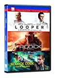 Looper/Riddick/Source Code Dvd Triple Feature