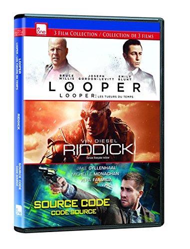 Looper / Riddick / Source Code (Source Code Dvd)