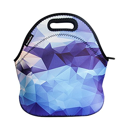 ambielly-neoprene-lunch-bag-lunch-box-lunch-tote-picnic-bags-insulated-cooler-travel-organizer-blue-