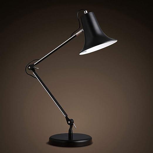 Lámpara de escritorio LED, portalámparas de tornillo E27, lámpara ...
