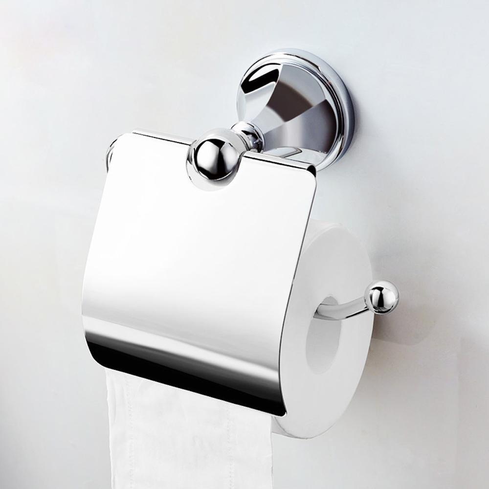 Modern luxury fashion bathroom toilet paper holder Toilet roll holder bathroom accessory,gold by JinRou Toilet?paper?holder (Image #1)
