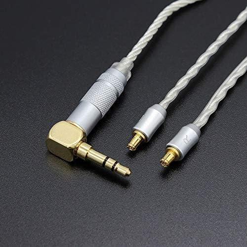 Cable de Audio de Repuesto con Conectores AD2C para Audio-Technica CKS1100 CKR90 CKR100 LS50 Yuhtech