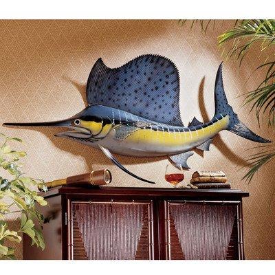 Design Toscano Key West Sailfish Trophy Wall Sculpture