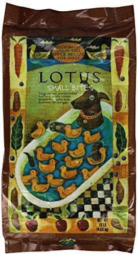 Cheap Lotus Small Bite Dry Dog Food, 10lb Duck