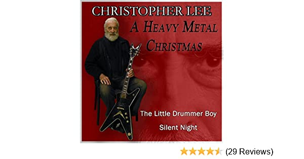 a heavy metal christmas by christopher lee on amazon music amazoncom - Heavy Metal Christmas Music