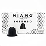 NEW - Nespresso Compatible Capsules - MIAMO COFFEE - INTENSO - Pack of 50 - Fit to all Nespresso Original Line Machines - Intensity 9/10