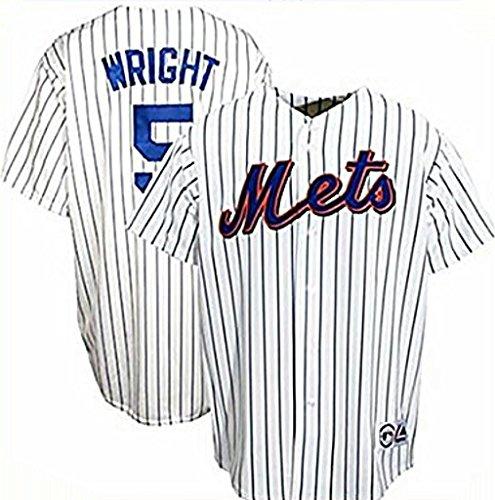 VF David Wright New York Mets MLB Mens Majestic Replica Jersey Big Sizes (4XL)