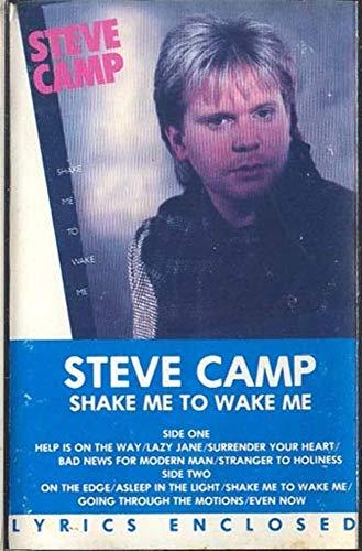 STEVE CAMP: Shake Me to Wake Me Cassette Tape (Steve Camp Shake Me To Wake Me)