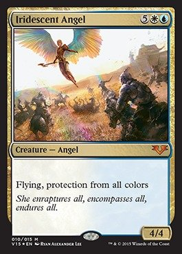 Magic: the Gathering - Iridescent Angel - From the Vault: Angels - Foil