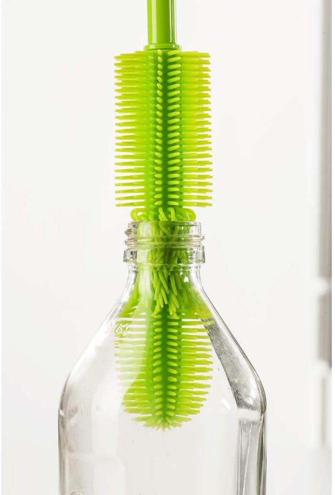 Kochblume Slim Silicone Bottle Brush 45cm turquoise