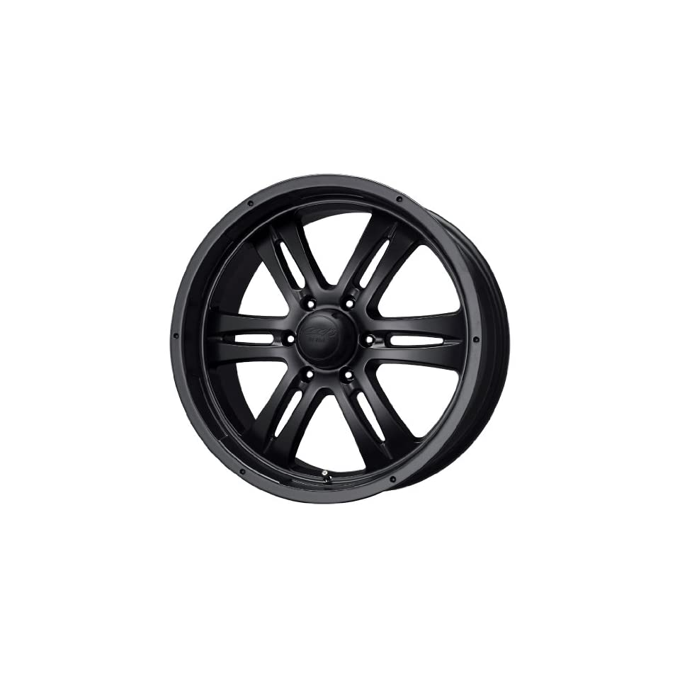 MB Wheels Gunner 6 Matte Black Wheel (17x8/6x139.7mm)