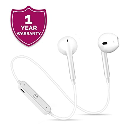 d7e8bc27e83 Enraciner Wireless S6 Bluetooth Headset with Mic Sweatproof Sports Running  Headset for redmi y1, mi