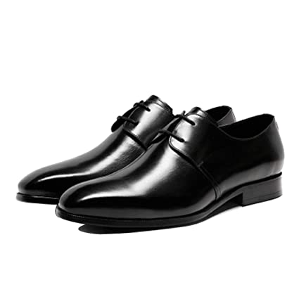 1c73e30d6783 Business Men's Shoes Fashion Leather Formal Shoes Lined Smart Wedding Lace  Up Formal Dress Shoes Office
