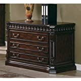 Coaster Home Furnishings  Tucker Modern Traditional Two Drawer Lateral File Cabinet - Rich Brown