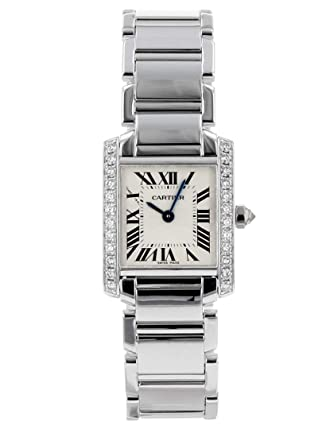 pretty nice ca17b ee91f Amazon | [カルティエ] 腕時計 CARTIER WE1002S3 タンク ...
