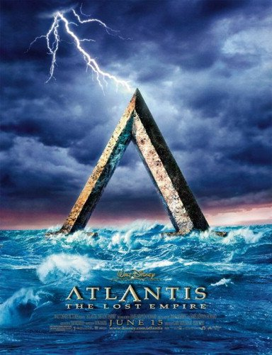 Atlantis The Lost Empire Single-Sided Advance 27X40 Movie Poster