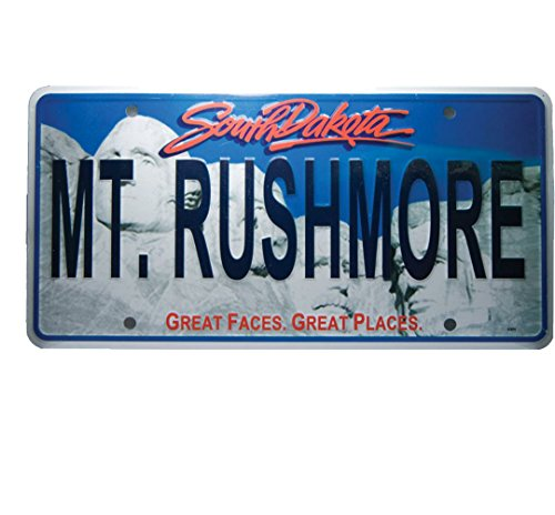 (Mount Rushmore South Dakota license plate)
