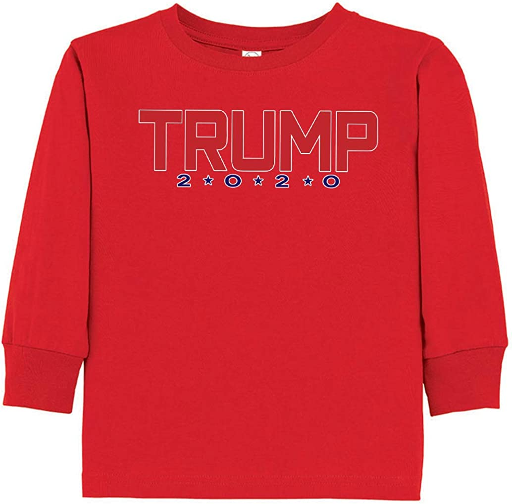 Tenacitee Toddlers Trump 2020 Long Sleeve T-Shirt