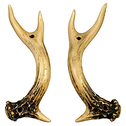 Superieur Antler Door Handles   Set Of 2