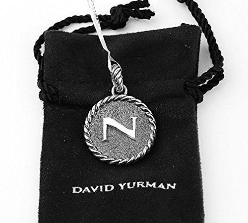 david-yurman-amazing-solid-sterling-silver-initial-n-23-mm-round-pendant