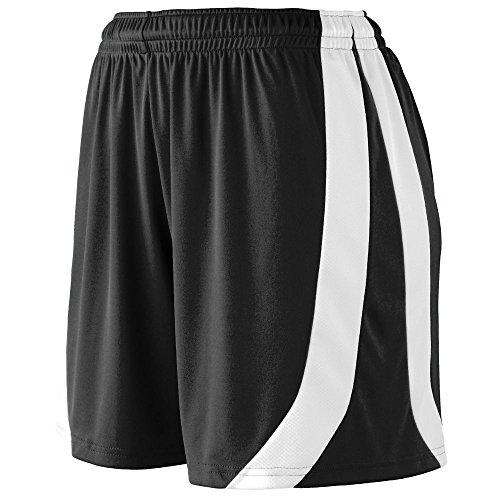 Augusta Sportswear Girls' Triumph Short S Black/White ()
