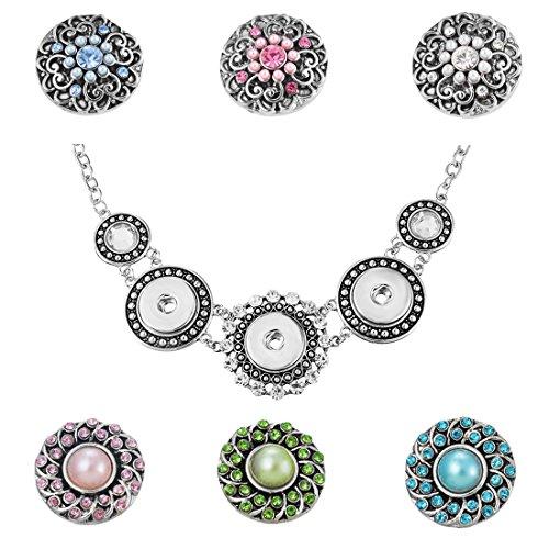 Antique Button Necklace - 2