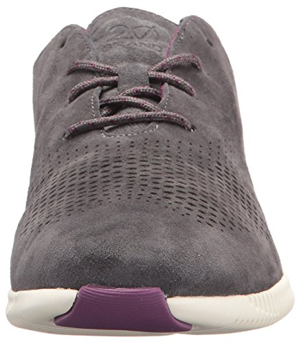 Cole Haan Femmes Aile Laser 2.zerogrand Oxford Fines Rayures Gris