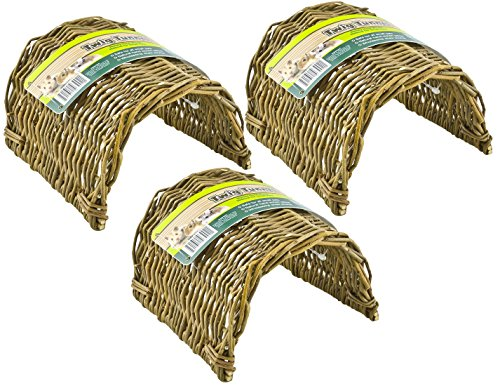 (3 Pack) Ware Manufacturing Hand Woven Willow Twig Tunnel...