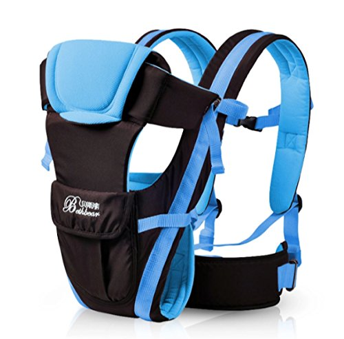 Multifunctional ventilated front facing baby carrier comfortable bag pouch wrap baby kangaroo.