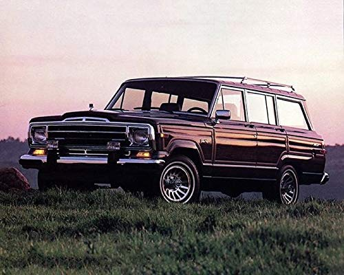 Jeep Grand Wagoneer >> Amazon Com 1989 1990 Jeep Grand Wagoneer Factory Photo