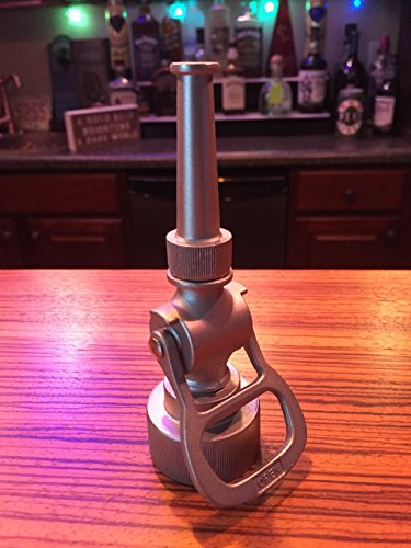 Elkhart Fire Nozzles - Firefighter Gift - Chrome Fire Hose Nozzle Bottle Opener