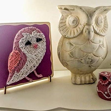 Fornel String Art Kit Rainbow DIY Unicorn Art String Crafts for Girls Kids Teens Ages 8-15 Bigger Size Canvas