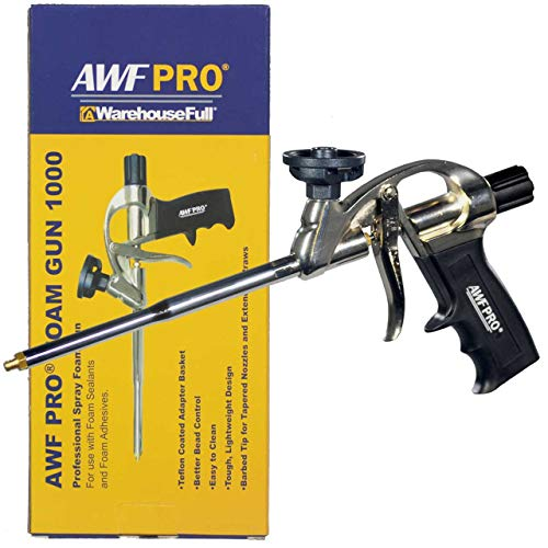 Professional Foam Gun, Teflon Coated Basket, AWF PRO (Great Stuff Pro 14 Foam Dispensing Gun)