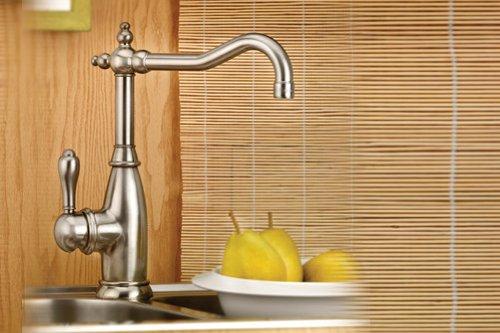 Mico 7752-SN Simone Satin Nickel Single Handle Bar Faucet