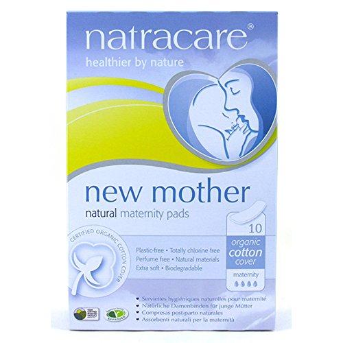Natracare Organic Maternity Pads Natural - Natracare New Mother Natural Maternity Pads - 10 Pads