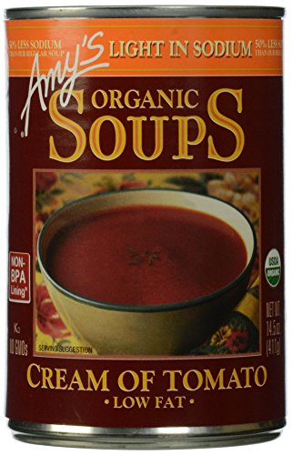 Low Sodium Cream of Tomato Soup by Amy's Kitchen, 14.5 oz