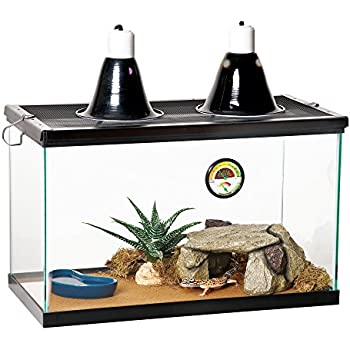 Zilla Reptile Starter Kit 10 with Light and Heat, Desert