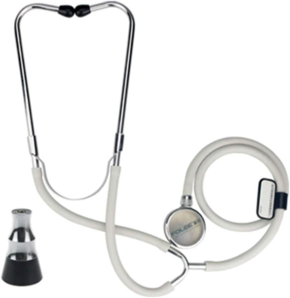 WanZhuanK Doble Doble Cabezal del Estetoscopio, el Kit de la presión Arterial con el Estetoscopio