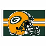 NFL Green Bay Packers 3-by-5 foot Stripe Design Flag For Sale