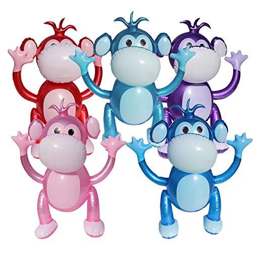 XuBa 5 colores 50 x 40 cm hinchable Mono Niños Juguete de ...